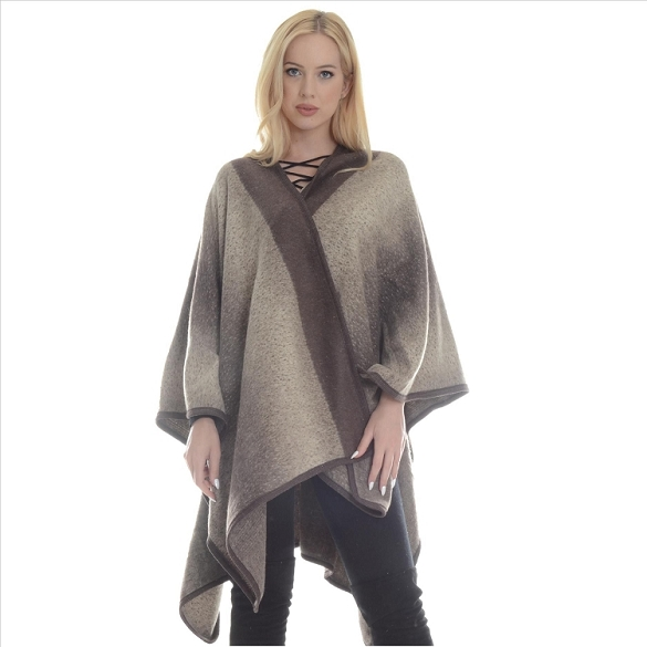 Fabulous Ombre Wrap - Brown