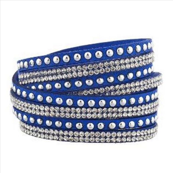 Wrap & Snap Bracelet - Royal