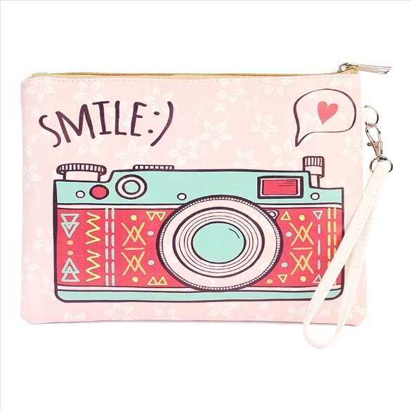 SMILE Cosmetic Bag