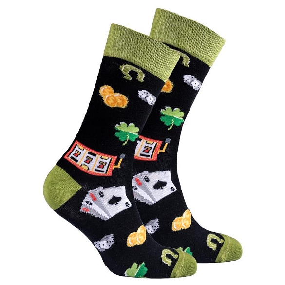 Men's Gambling Socks #1358