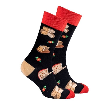 Men's Cheese Socks #1423