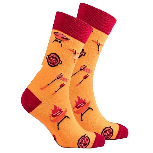 Men's Barbecue Socks #1443