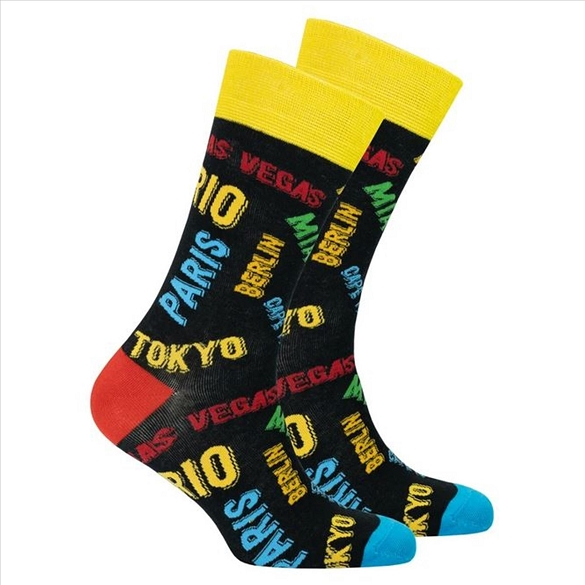 Men's Cities Socks #1462
