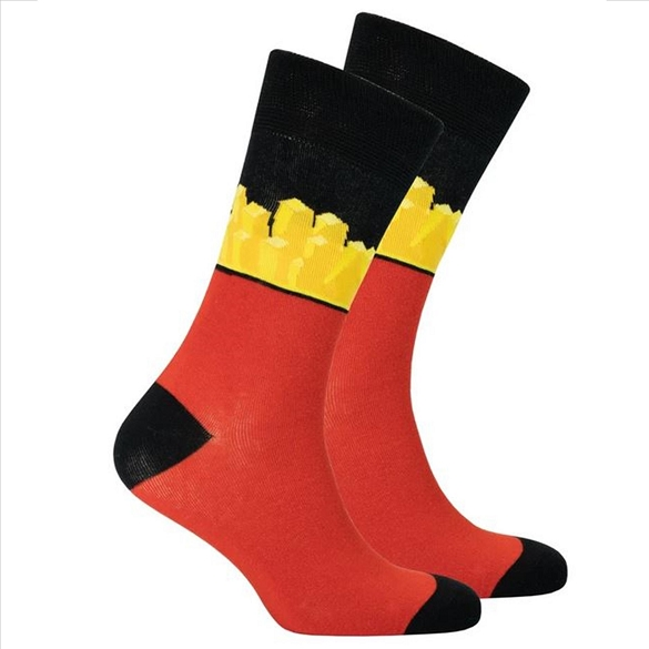 Men's Fries Socks #1466