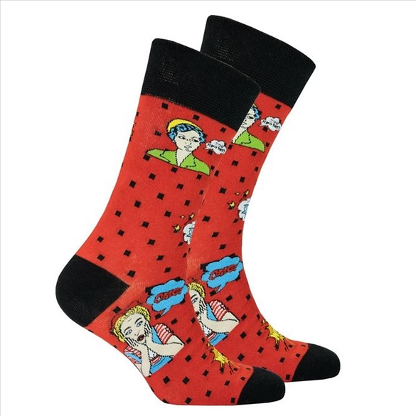 Men's Pop Art Socks #1469