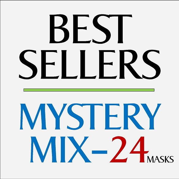 Mystery Mix Face Masks - 24 Pack