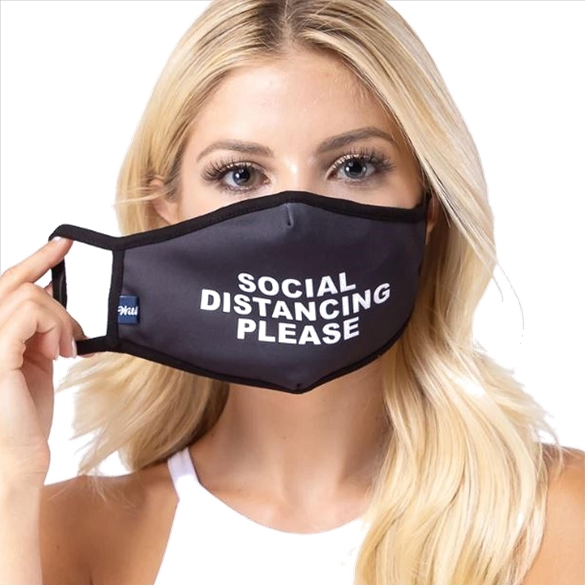 Social Distancing Face Mask