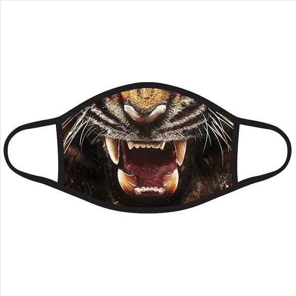 Halloween Tiger Face Masks