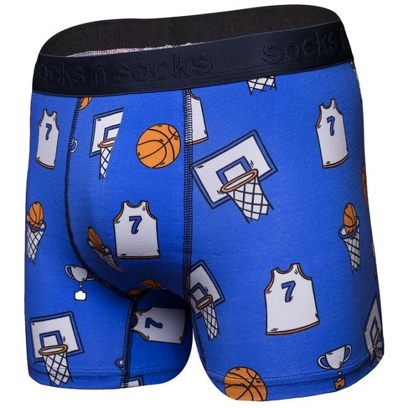 Men's Boxers - Basketball