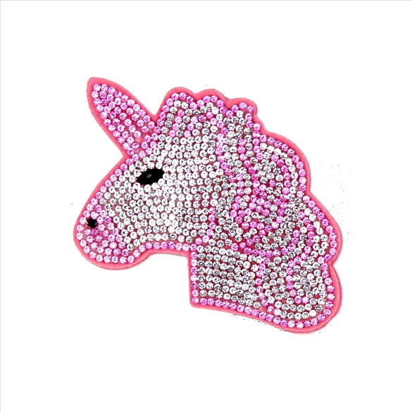 Bling Rhinestone Unicorn Pin Brooch