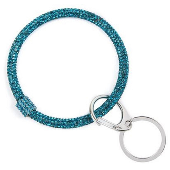 Bracelet Key Chain - Teal