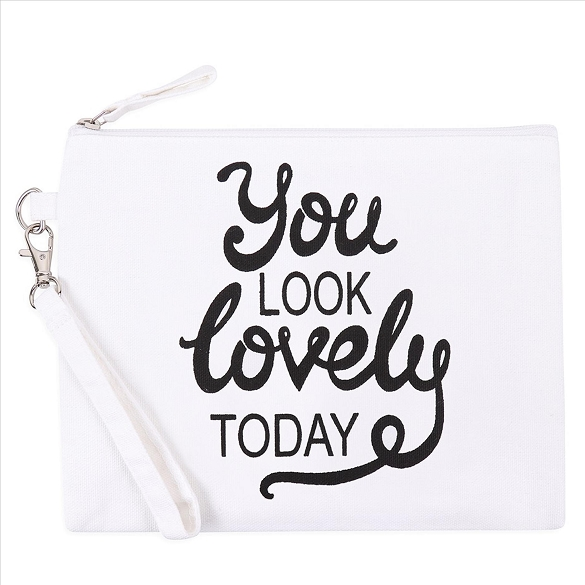 You Look Lovely Today Cosmetic Bag