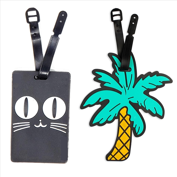 6 Pack Assorted Luggage Tags #5