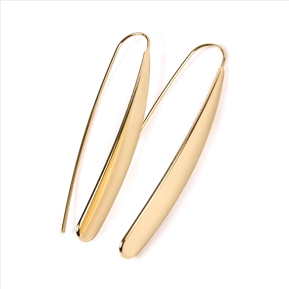 Threader Earrings - Gold