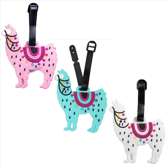 Llama Assorted Luggage Tags