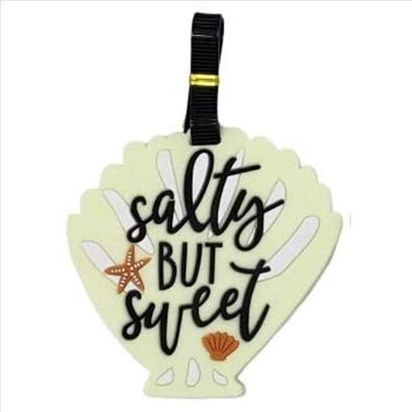 Salty But Sweet Luggage Tag
