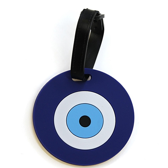 Graphic Evil Eye Luggage Tag