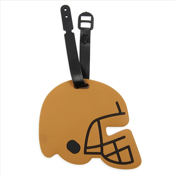 Football Helmet Luggage Tag