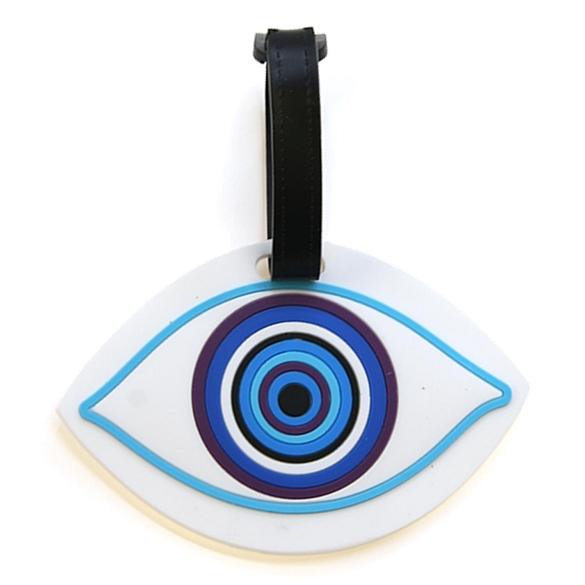Graphic Eye Luggage Tag