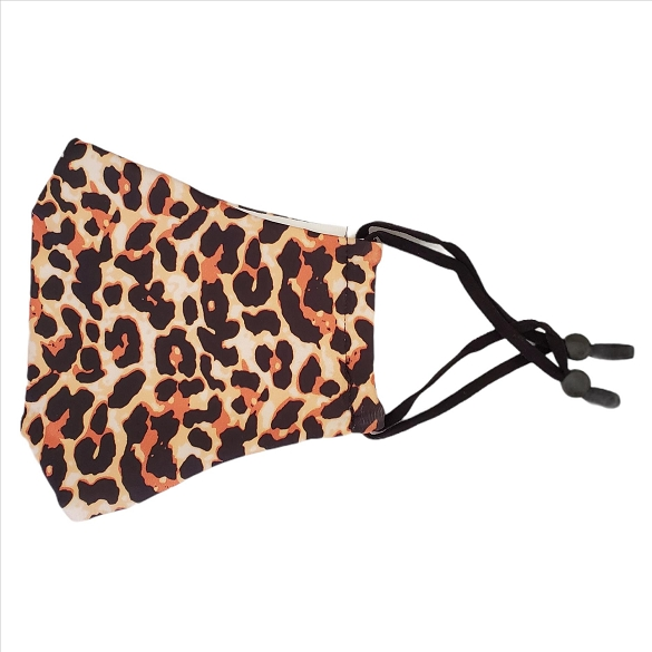 Leopard Print Face Masks - 10 Pack