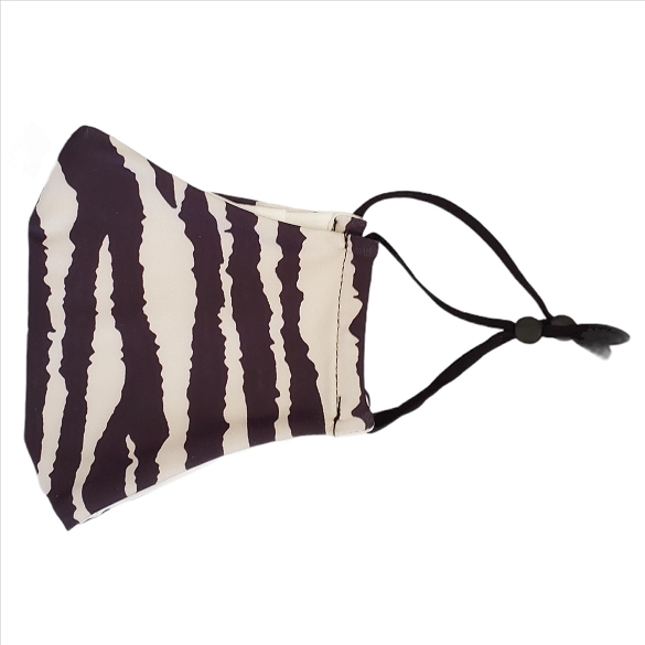 Zebra Print Face Masks - 10 Pack