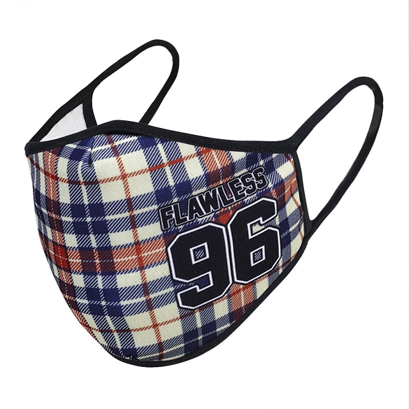 Plaid Flawless 96 Face Mask
