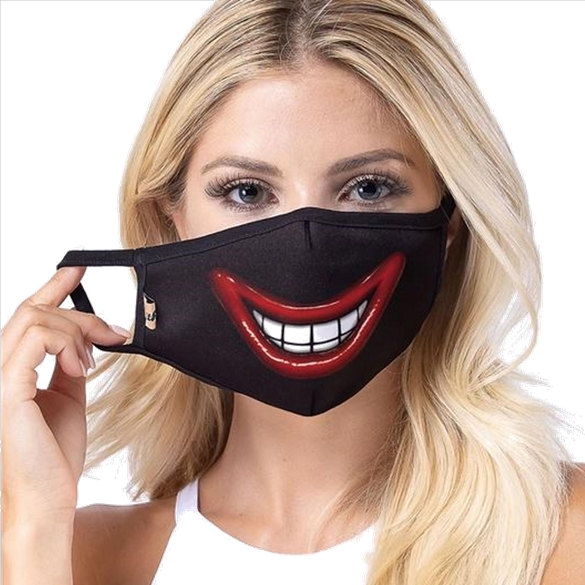 Big Smile Designer Face Masks