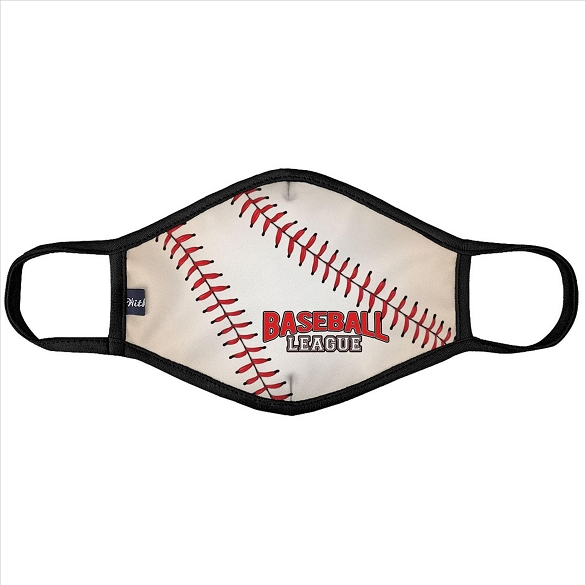 Baseball League Face Mask - 6 Pack