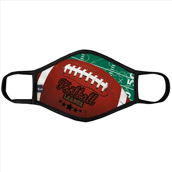 Football League Face Mask - 6 Pack
