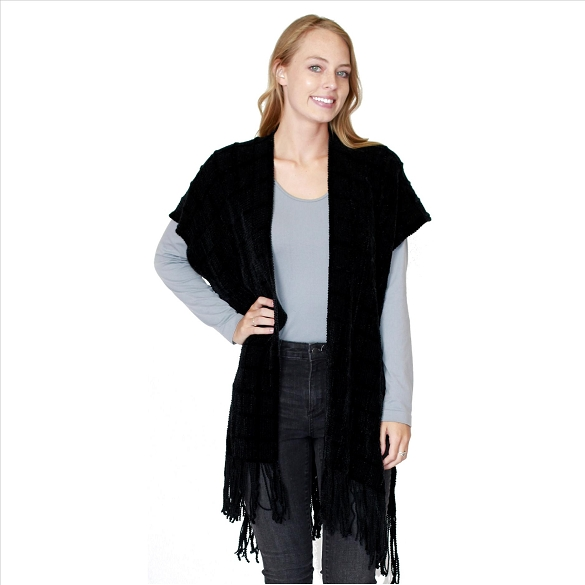 6 Pack Knit Cardigan - Black