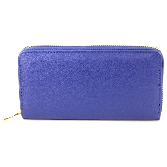 Solid Blue Wallets