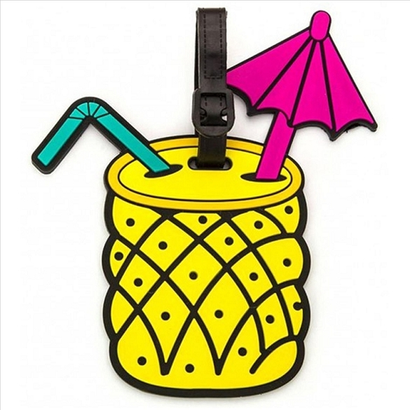 Pina Colada Luggage Tag