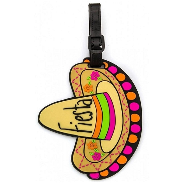 Sombrero Luggage Tag