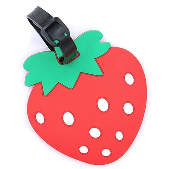 Strawberry Luggage Tag