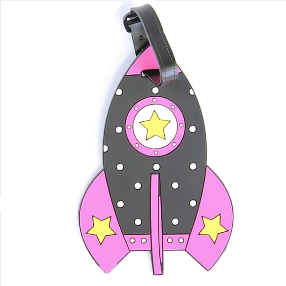 Rocket Luggage Tag