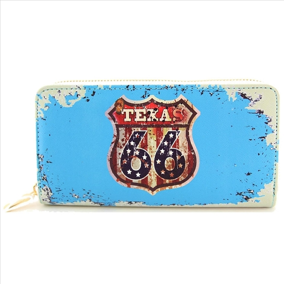 Texas Route 66 Wallet
