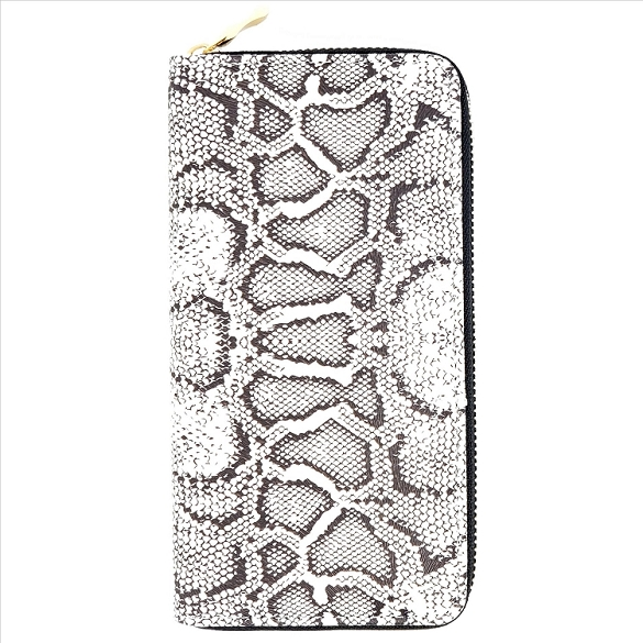 Animal Print Wallet - Reptile