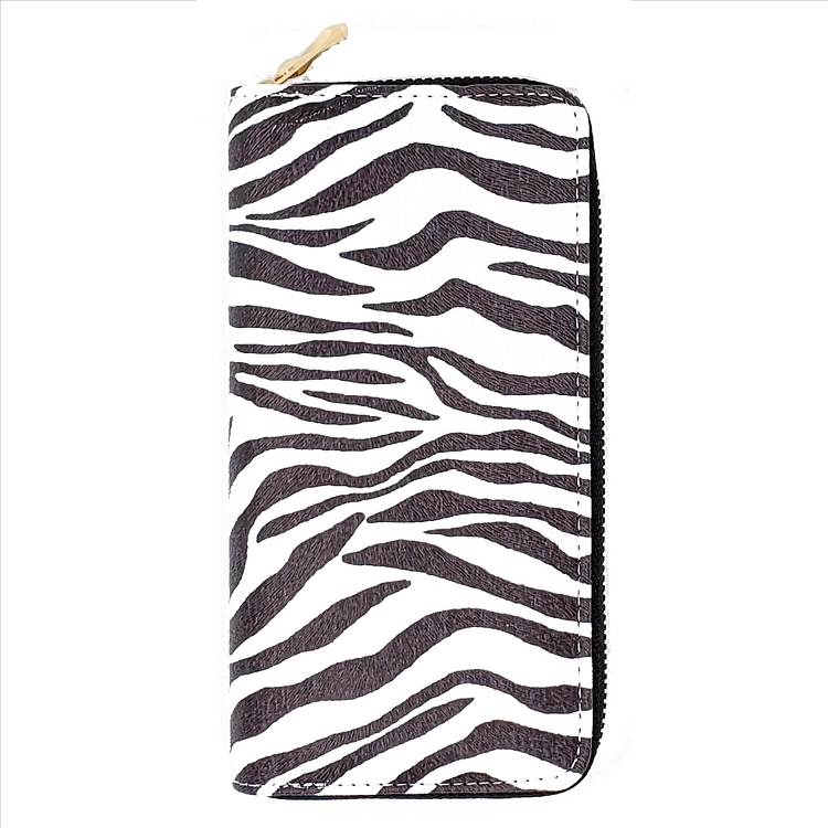 Animal Print Wallet - Zebra