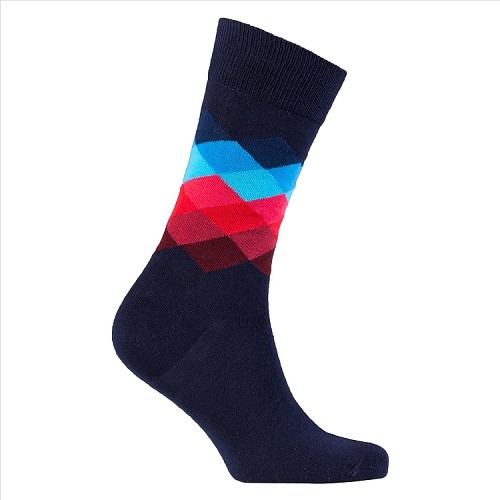 Men's Diamond Crew Socks #1046