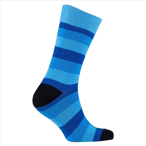 Men's Striped Crew Socks #1225