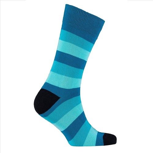 Men's Striped Crew Socks #1228