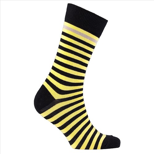Men's Striped Crew Socks #1249
