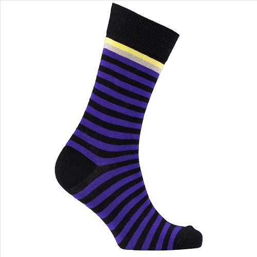 Men's Striped Crew Socks #1252