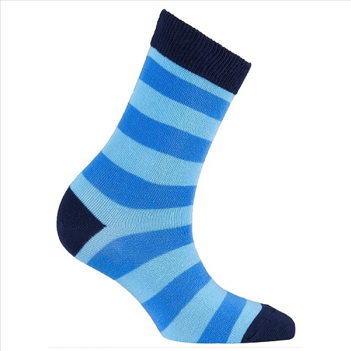 Women's Stripe Crew Socks #4085