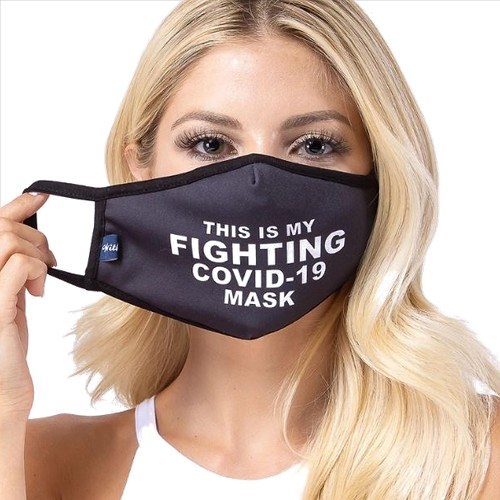 Fighting COVID-19 Face Mask