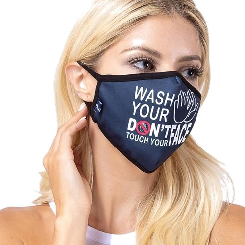 Wash Your Hands Face Mask