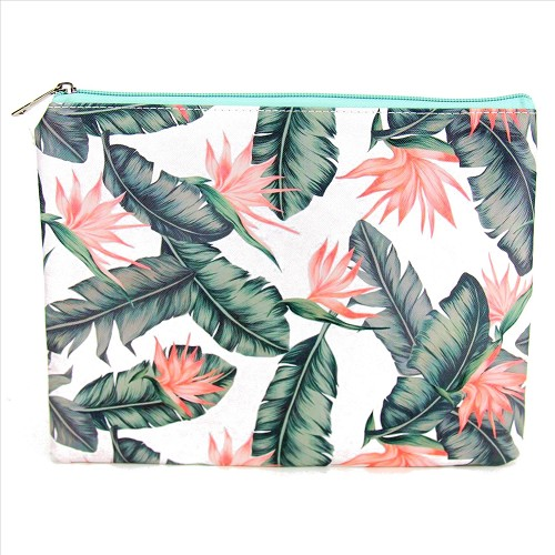 Birds of Paradise Cosmetic Bag