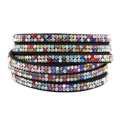 Bling Wrap & Snap Bracelet - Multi