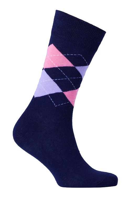 Men's Argyle Socks #1006