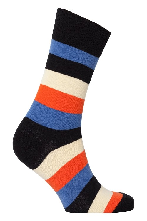 Men's Striped Crew Socks #1188
